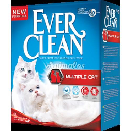 חול אוור קלין מולטי קט 10 ליטר Ever Clean