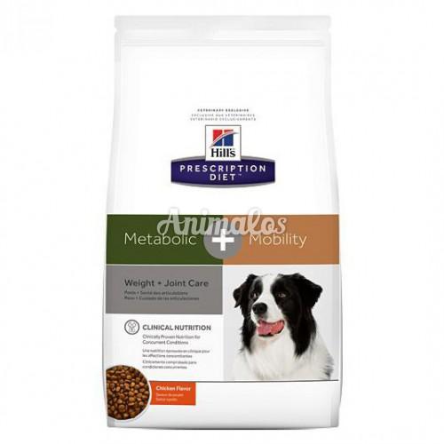 הילס מזון רפואי לכלב מטבוליק +מוביליטי  4 ק''ג