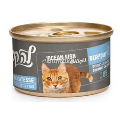 מעדן לה-קט בטעם דגי אוקיינוס 85 גרם