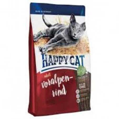 הפי קט מזון לחתול בוגר בקר 1 ק''ג HAPPY CAT