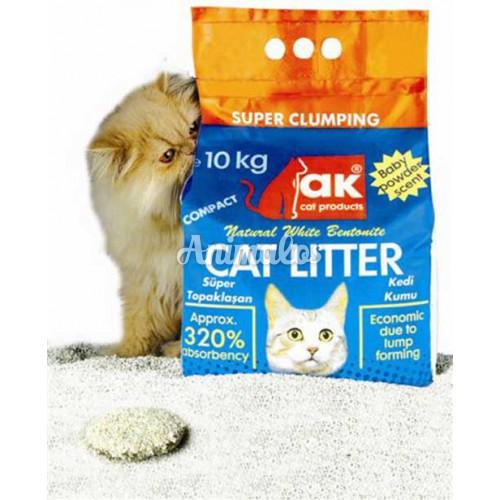 חול לחתולים איי קיי 10 ק''ג ak cat litter