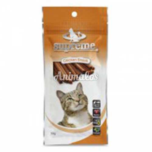 חטיף סופרים לחתולים בטעם עוף 50 גרם