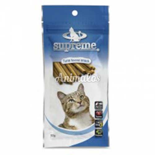 חטיף סופרים לחתולים בטעם טונה 50 גרם