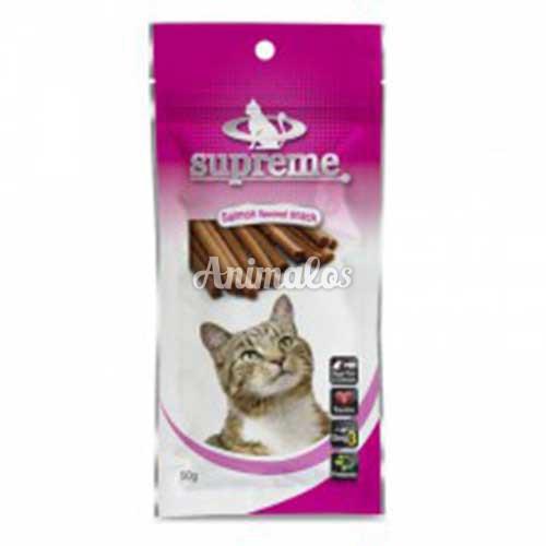 חטיף סופרים לחתולים בטעם סלמון 50 גרם