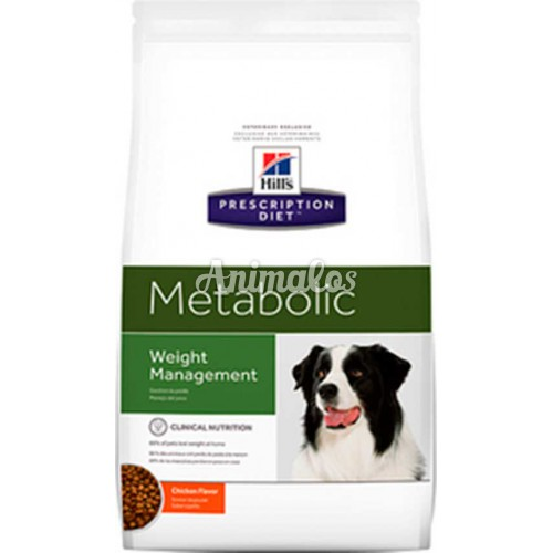 """הילס מזון רפואי לכלב מטבוליק 12 ק""""ג"""