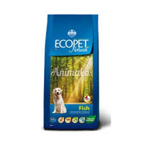 אקופט מזון לכלב בוגר דגים 12 ק''ג ECOPET