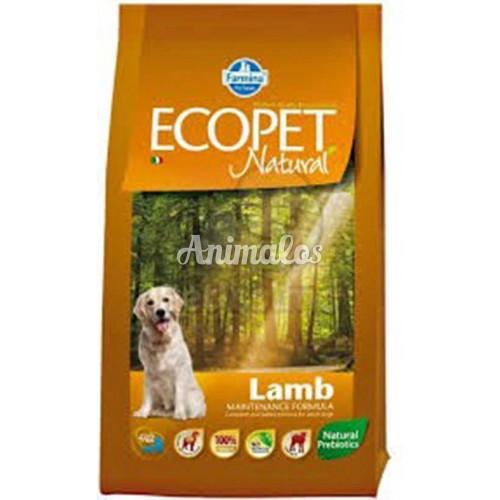 אקופט מזון לכלב בוגר כבש 12 ק''ג ECOPET