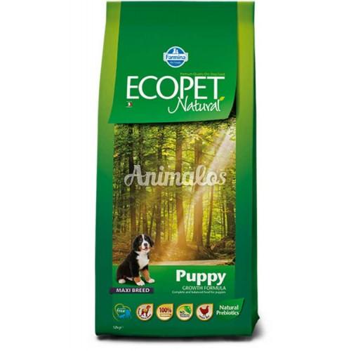אקופט מזון לכלב גור מקסי 12 ק''ג ECOPET