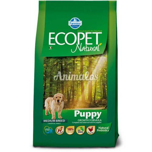 אקופט מזון לכלב גור 12 ק''ג ECOPET