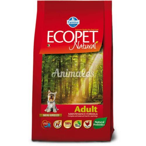 אקופט מזון לכלב בוגר מגזע קטן 2.5 ק''ג ECOPET