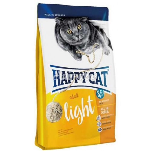 הפי קט מזון לחתול לייט 10 ק''ג HAPPY CAT