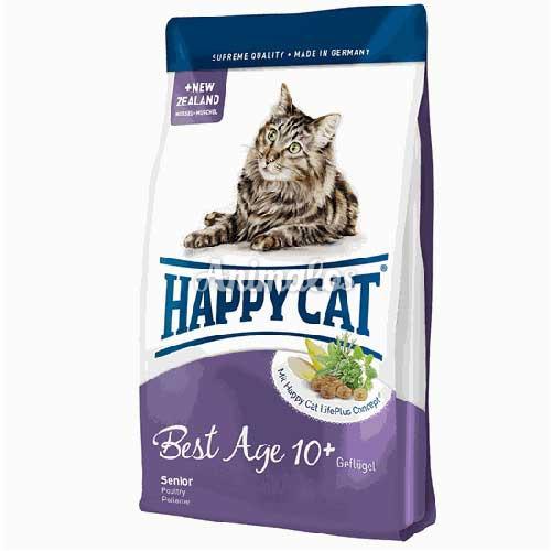 הפי קט מזון לחתול סניור 4 ק''ג HAPPY CAT
