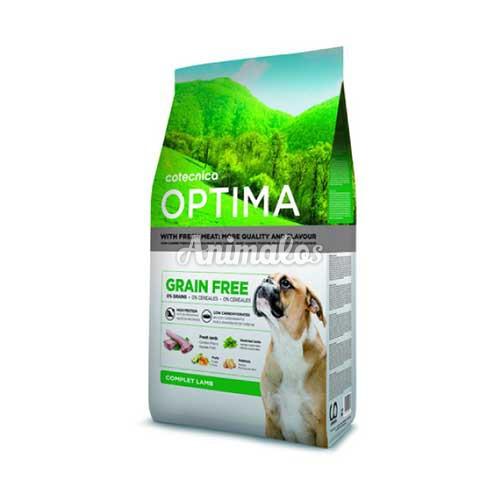 אופטימה לכלב ללא דגנים טלה 14 ק''ג OPTIMA