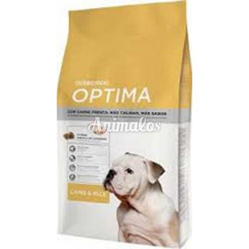 אופטימה כבש לכלב 15 ק''ג OPTIMA