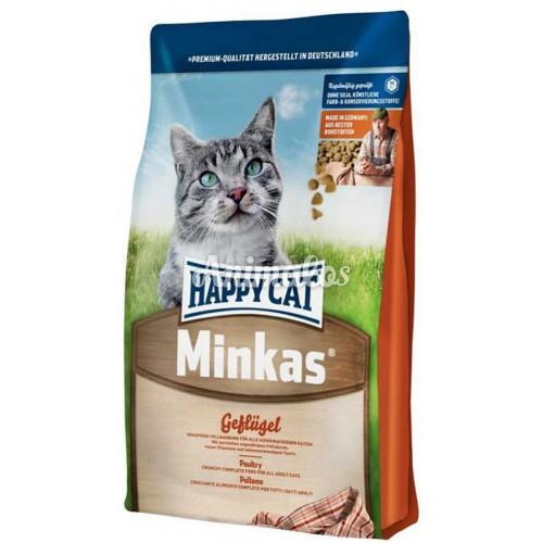 הפי קט לחתול מינקס עוף 10 ק''ג HAPPY CAT