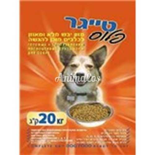 טייגר מזון לכלב 20 ק''ג