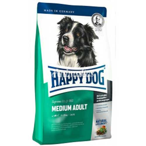 הפי דוג לכלב בוגר מדיום 4 ק''ג HAPPY DOG