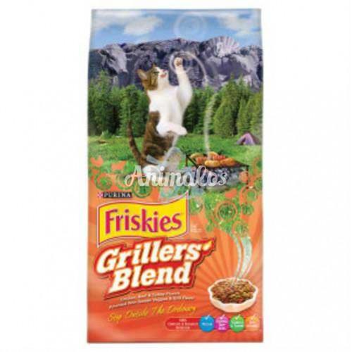 פריסקיז מזון לחתולים גריל 7.2 ק''ג