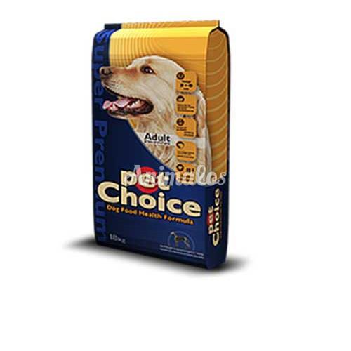 פט צ'ויס מזון לכלב בוגר עוף 18 ק''ג Pet Choice