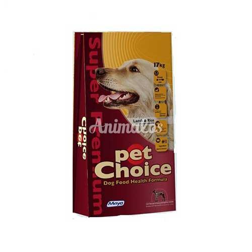 פט צ'ויס כבש לכלב בוגר בוגר 17 ק''ג Pet Choice