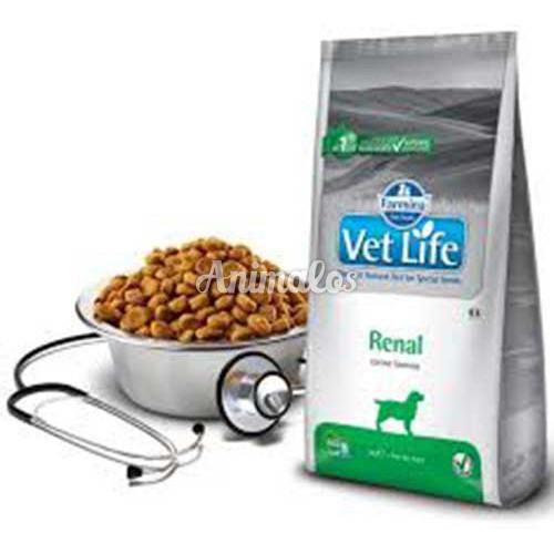 """וט לייף רנל מזון רפואי לכלב 2 ק""""ג Vet Life"""