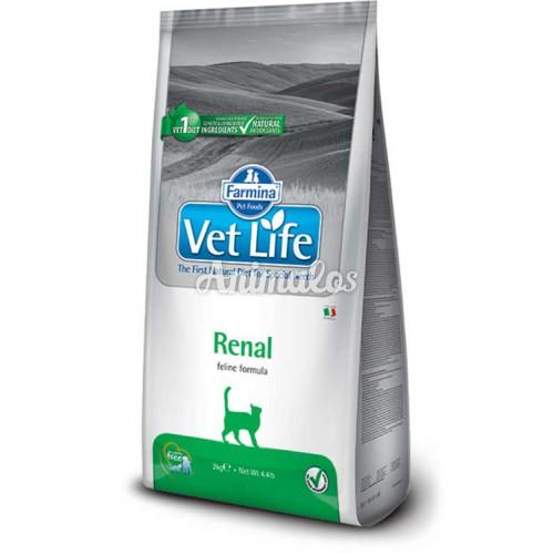 """וט לייף רנל מזון רפואי לחתול 2 ק""""ג Vet Life"""