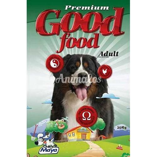 גוד פוד לכלב בוגר 22 ק''ג(מחולק)