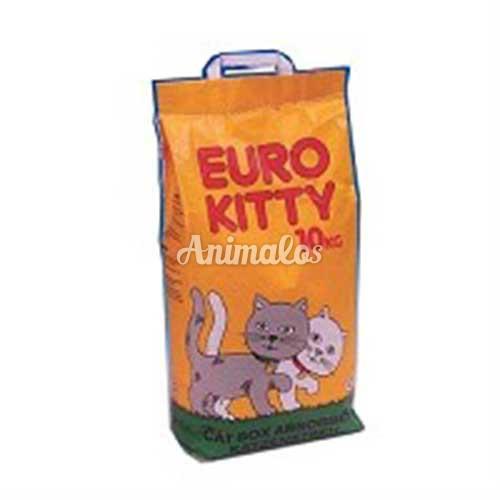 חול יורו קיטי לחתול 10 ק''ג