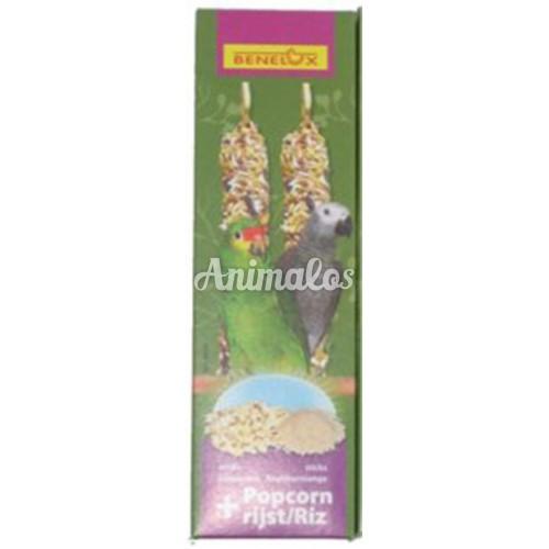 חטיף זרעים תוכי גדול פופקורן