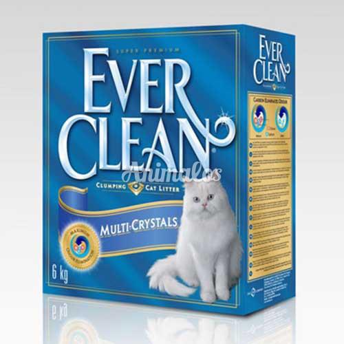 חול אוור קלין מולטי קריסטל 10 ליטר Ever Clean