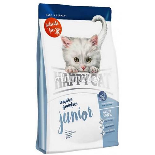 הפי קט סנסטיב גורי חתולים ללא דגנים 4 ק''ג HAPPY CAT