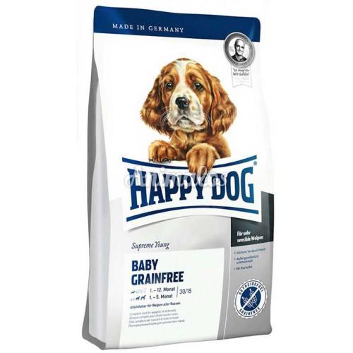 הפי דוג גורים ללא דגנים 10 ק''ג HAPPY DOG
