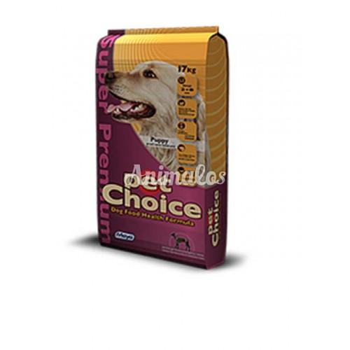 פט צ'ויס לכלב גור 17 ק''ג Pet Choice