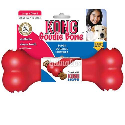 קונג גודי בון עצם חטיפים אדומה מדיום KONG
