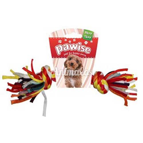 """צעצוע לכלבים pawise חבל צבעוני 23 ס""""מ"""