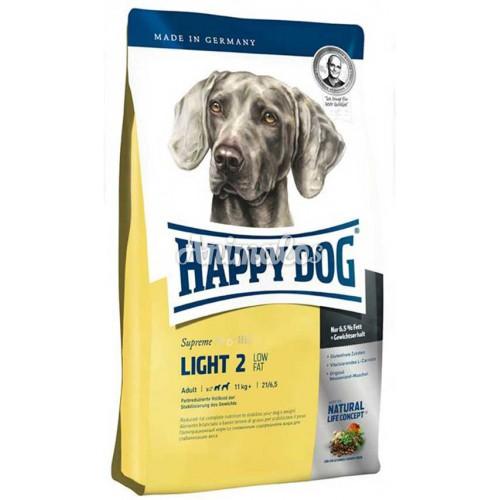 הפי דוג לייט 2 דל שומן 4 ק''ג HAPPY DOG