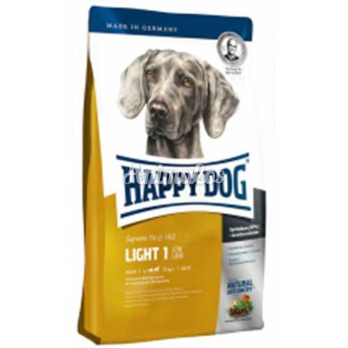 הפי דוג לייט 1 דל פחממות 4 ק''ג HAPPY DOG