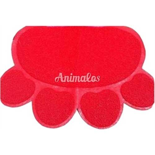 שטיח לארגז חול בצורת כף רגל לחתול