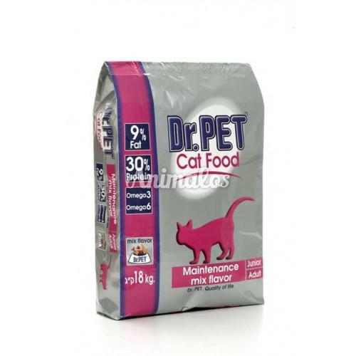 ד''ר פט מזון לחתולים 18 ק''ג