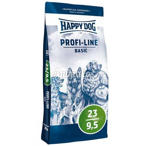 הפי דוג פרופיליין בייסיק 20 ק''ג HAPPY DOG