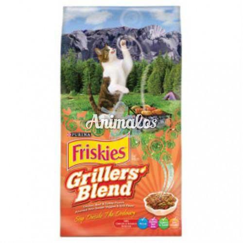 פריסקיז מזון לחתולים גריל 2.86 ק''ג