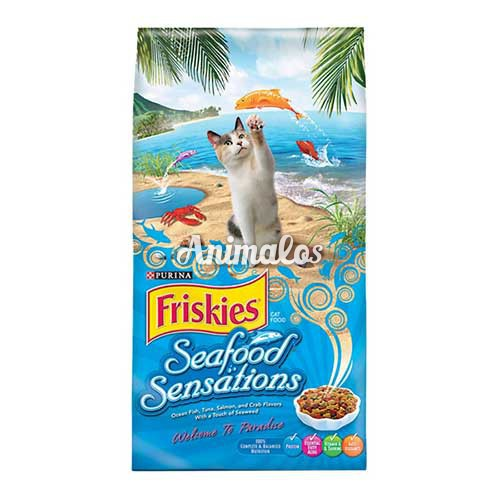 פריסקיז מזון לחתולים מעדני הים 2.86 ק''ג