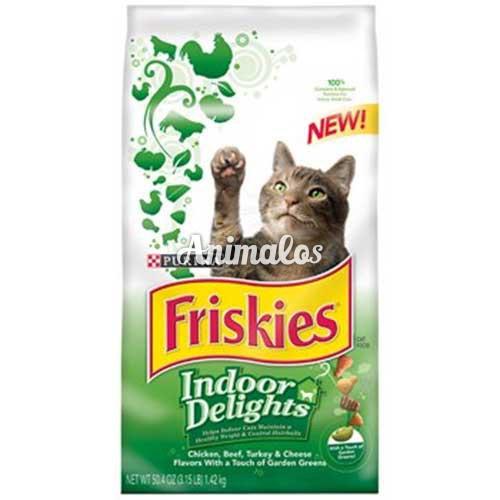 פריסקיז מזון לחתולים מעדני השף ירוק 2.86 ק''ג