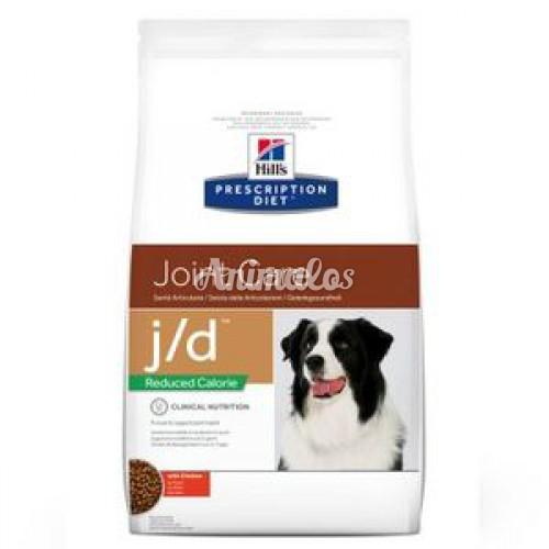 """הילס מזון רפואי J/D לייט לכלב 12 ק""""ג"""