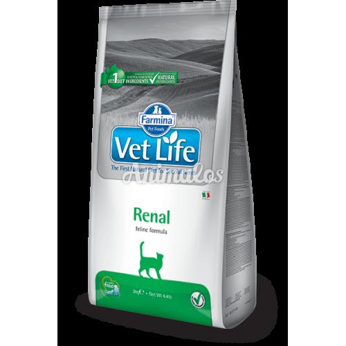 """וט לייף רנל מזון רפואי לחתול 5 ק""""ג Vet Life"""