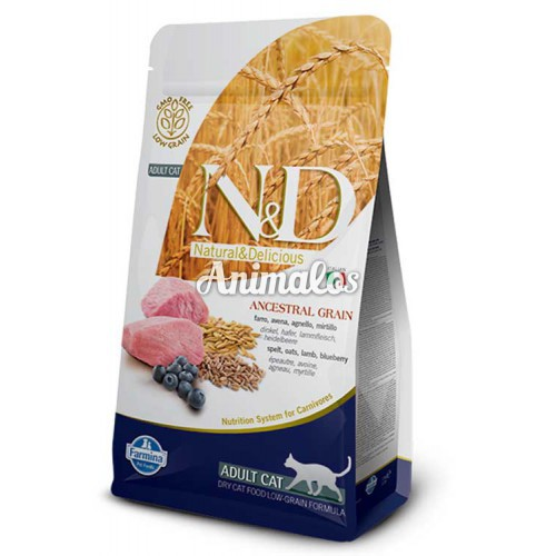 נטורל אנד דלישס חתול כבש ואוכמניות 1.5 ק''ג