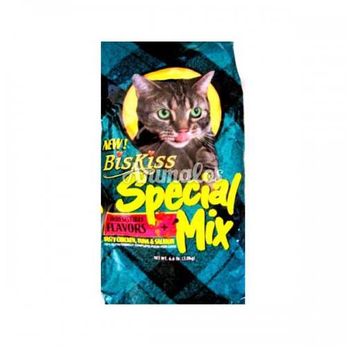 ספיישל מיקס - עוף והודו - לחתולים בוגרים 3 ק''ג