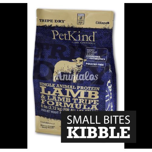פטקיינד כבש סינגל (חלבון יחיד) ללא דגנים על בסיס קירשה 11.3 ק''ג