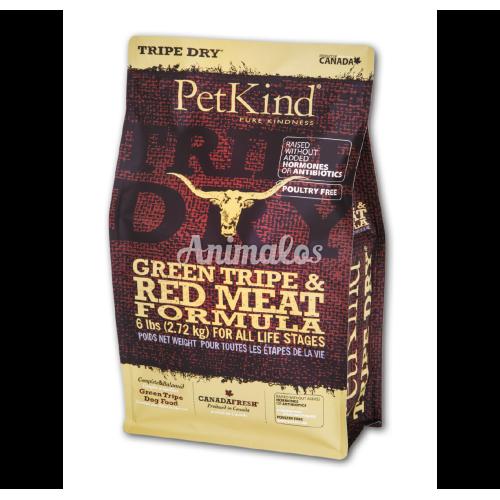 פטקיינד רד (בשר אדום) ללא דגנים על בסיס קירשה 11.3 ק''ג